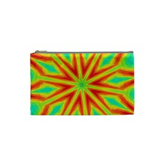 Kaleidoscope Background Star Cosmetic Bag (small) by Mariart
