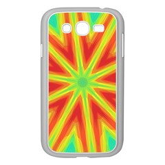 Kaleidoscope Background Star Samsung Galaxy Grand Duos I9082 Case (white) by Mariart