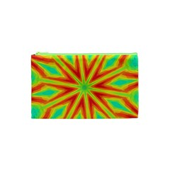 Kaleidoscope Background Star Cosmetic Bag (xs) by Mariart