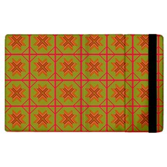 Western Pattern Backdrop Apple Ipad 2 Flip Case by Mariart