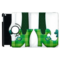 Saint Patrick S Day March Apple Ipad 2 Flip 360 Case by Mariart