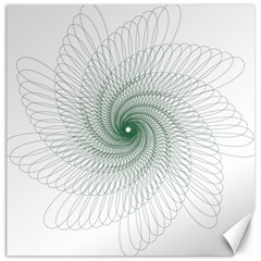 Spirograph Pattern Canvas 12  X 12  by Mariart