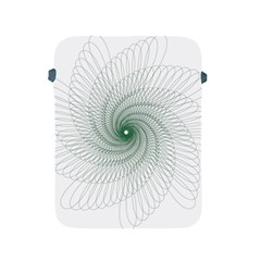 Spirograph Pattern Apple Ipad 2/3/4 Protective Soft Cases by Mariart