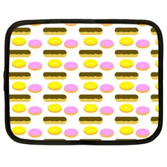 Donuts Fry Cake Netbook Case (xxl)