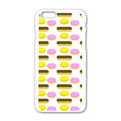 Donuts Fry Cake Apple Iphone 6/6s White Enamel Case