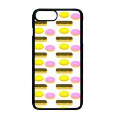 Donuts Fry Cake Apple Iphone 7 Plus Seamless Case (black)