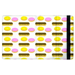 Donuts Fry Cake Apple Ipad 2 Flip Case by AnjaniArt