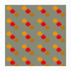 Fall Leaves Autumn Leaves Medium Glasses Cloth by AnjaniArt