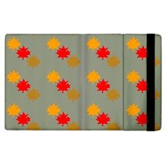 Fall Leaves Autumn Leaves Apple Ipad 2 Flip Case by AnjaniArt