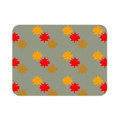 Fall Leaves Autumn Leaves Double Sided Flano Blanket (mini)  by AnjaniArt