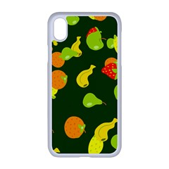 Fruite Apple Iphone Xr Seamless Case (white) by AnjaniArt