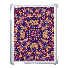 Kaleidoscope Background Design Apple Ipad 3/4 Case (white) by AnjaniArt