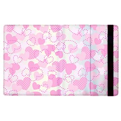 Valentine Background Hearts Bokeh Apple Ipad 2 Flip Case
