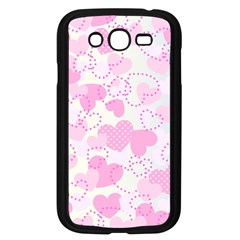 Valentine Background Hearts Bokeh Samsung Galaxy Grand Duos I9082 Case (black) by AnjaniArt