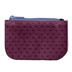 Plum Bow Design Large Coin Purse