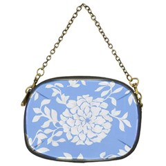 White Dahlias Chain Purse (one Side)