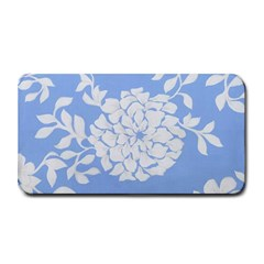White Dahlias Medium Bar Mats