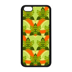 Texture Plant Herbs Herb Green Apple Iphone 5c Seamless Case (black)