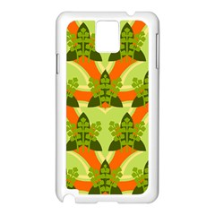 Texture Plant Herbs Herb Green Samsung Galaxy Note 3 N9005 Case (white) by AnjaniArt