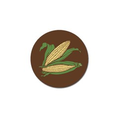 Sweet Corn Maize Vegetable Golf Ball Marker (10 Pack) by Alisyart