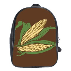 Sweet Corn Maize Vegetable School Bag (xl)