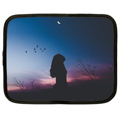 At Dusk Netbook Case (xxl) by WensdaiAddamns