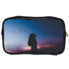 At Dusk Toiletries Bag (one Side) by WensdaiAddamns