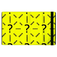 Crime Investigation Police Apple Ipad 2 Flip Case by Alisyart