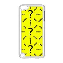 Crime Investigation Police Apple Ipod Touch 5 Case (white)