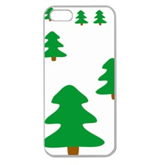 Christmas Tree Holidays Apple Seamless Iphone 5 Case (clear)