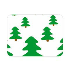Christmas Tree Holidays Double Sided Flano Blanket (mini)