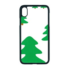 Christmas Tree Holidays Apple Iphone Xr Seamless Case (black)
