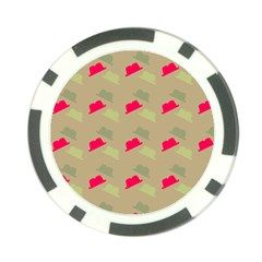 Cowboy Hat Western Poker Chip Card Guard (10 Pack)