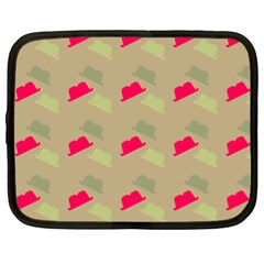 Cowboy Hat Western Netbook Case (xl)