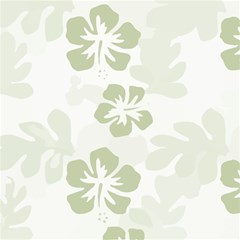 Hibiscus Green Pattern Plant Magic Photo Cube