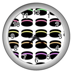 Cookies Moon Pies Wall Clock (silver)