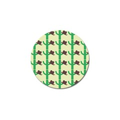 Cowboy Hat Cactus Golf Ball Marker (10 Pack) by Alisyart