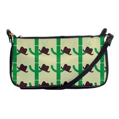 Cowboy Hat Cactus Shoulder Clutch Bag