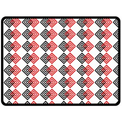 Backdrop Plaid Fleece Blanket (large)