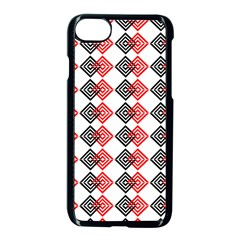 Backdrop Plaid Apple Iphone 7 Seamless Case (black)