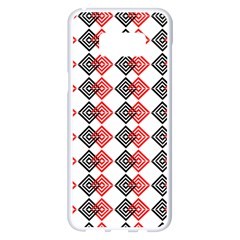 Backdrop Plaid Samsung Galaxy S8 Plus White Seamless Case by Alisyart