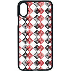 Backdrop Plaid Apple Iphone X Seamless Case (black)