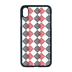 Backdrop Plaid Apple Iphone Xr Seamless Case (black)