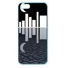 Cityscape City Waterfront Apple Seamless Iphone 5 Case (color)