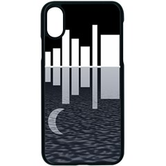 Cityscape City Waterfront Apple Iphone Xs Seamless Case (black)