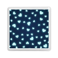 Hearts Background Wallpaper Digital Memory Card Reader (square)