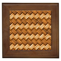 Basket Fibers Basket Texture Braid Framed Tiles