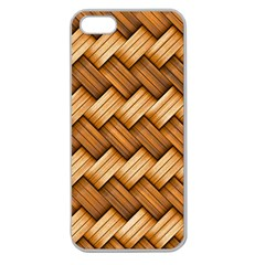 Basket Fibers Basket Texture Braid Apple Seamless Iphone 5 Case (clear)