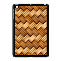 Basket Fibers Basket Texture Braid Apple Ipad Mini Case (black)