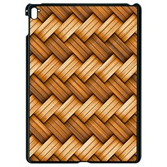 Basket Fibers Basket Texture Braid Apple Ipad Pro 9 7   Black Seamless Case
